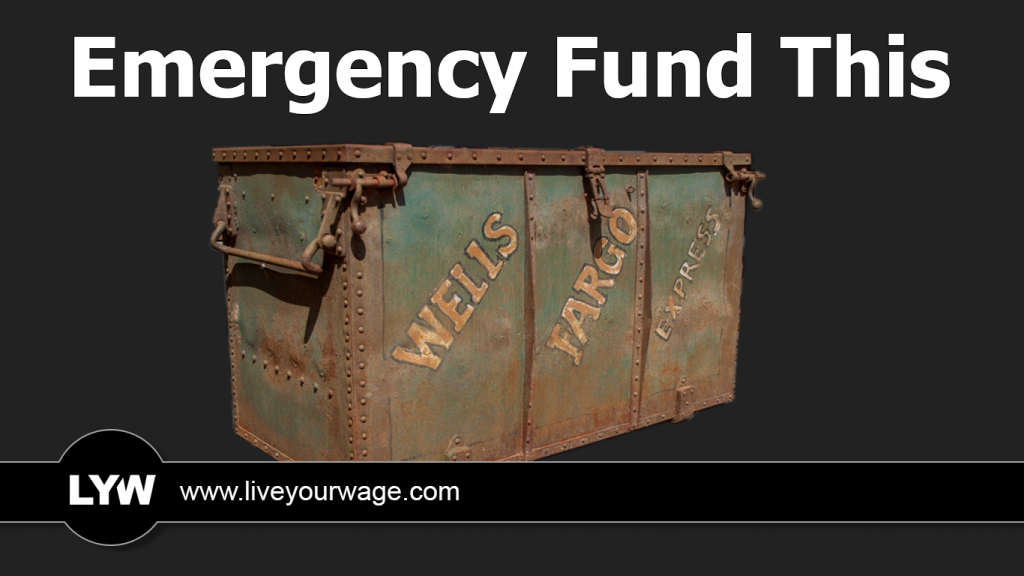 Old-time Wells Fargo Crate