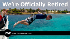 Officially Retired - Me Jumping Off a Boat