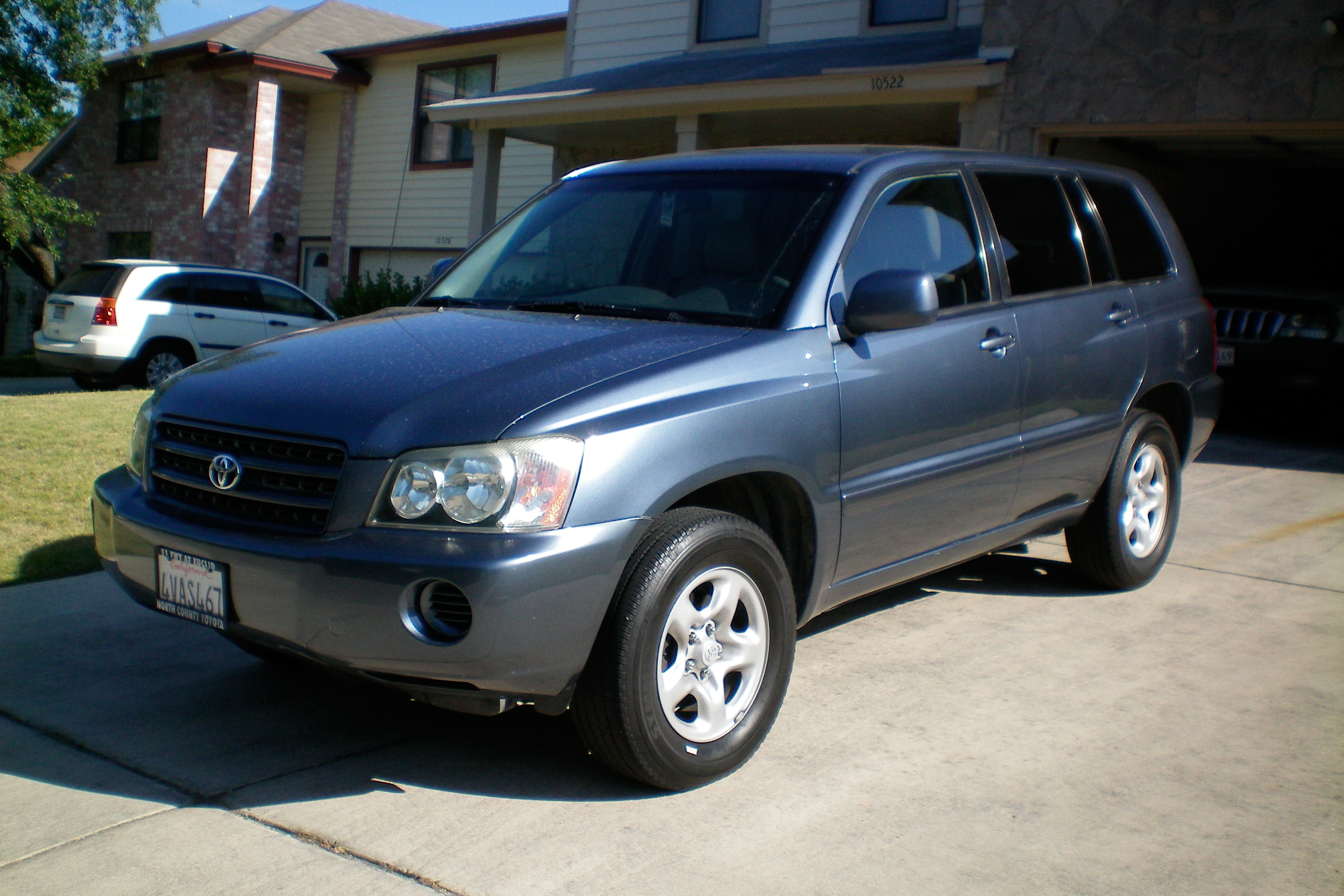 My 2002 Toyota Highlander