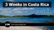 Featured image of Playa Conchal beach in Costa Rica.