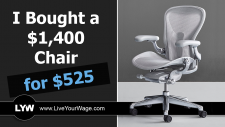 I Bought a $1,400 Chair for Only $525