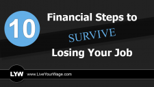 10 Financial Steps to Survive Losing Your Job